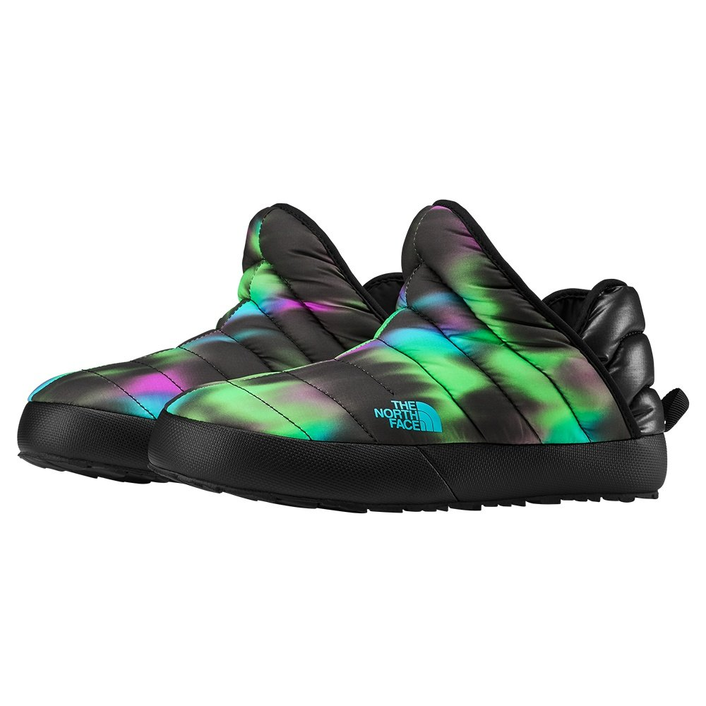 The North Face ThermoBall Traction Bootie (Women's) - TNF Black/Northern Lights Print