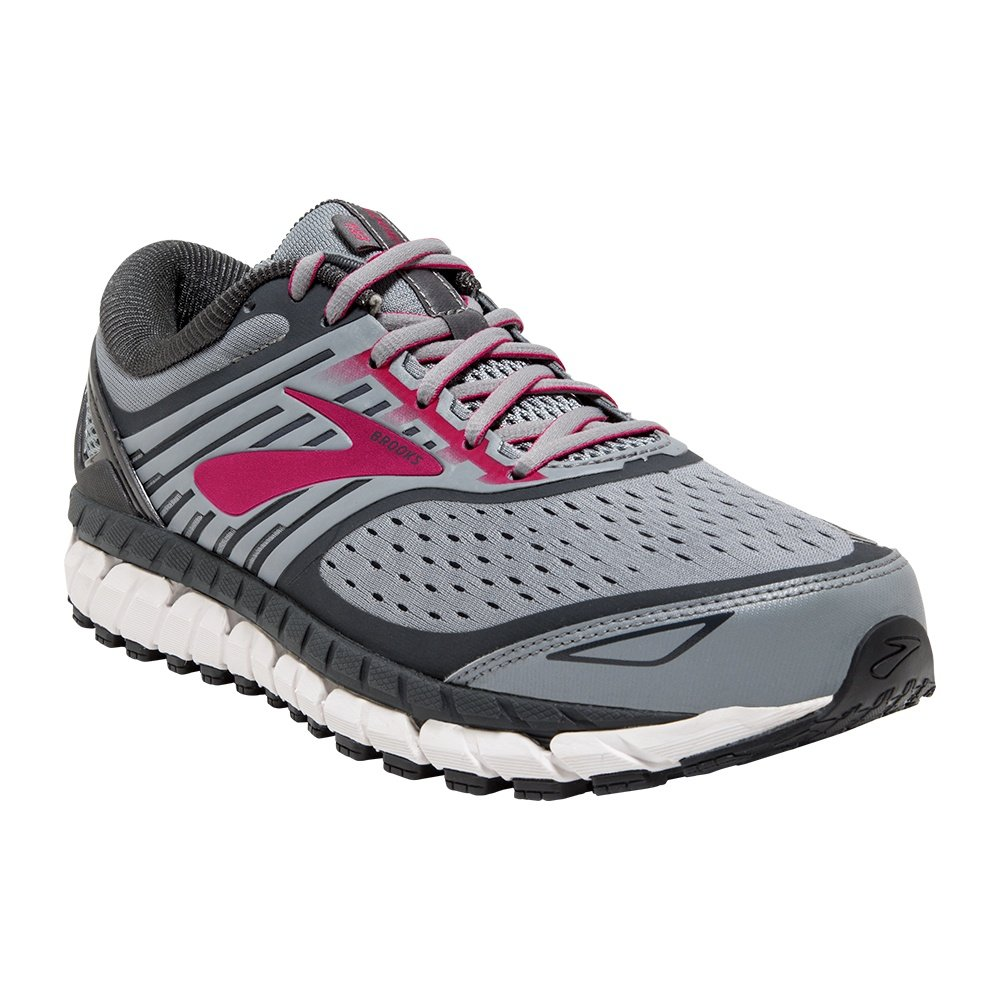 Brooks Ariel Running Shoe (Women's) - Grey/Pink