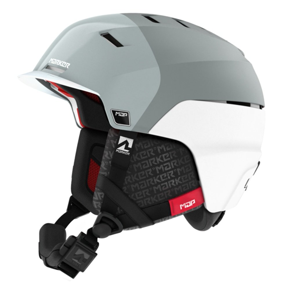 Marker Phoenix Map Helmet (Men's) - White/Grey