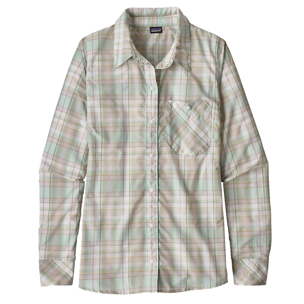 Patagonia Havasu Long Sleeve Shirt (Women's) - Wawona Plaid/White