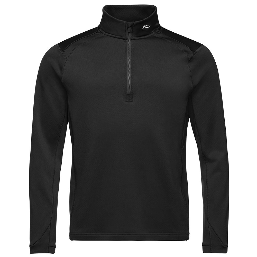 KJUS Diamond 1/2-Zip Turtleneck Mid-Layer (Men's) - Black