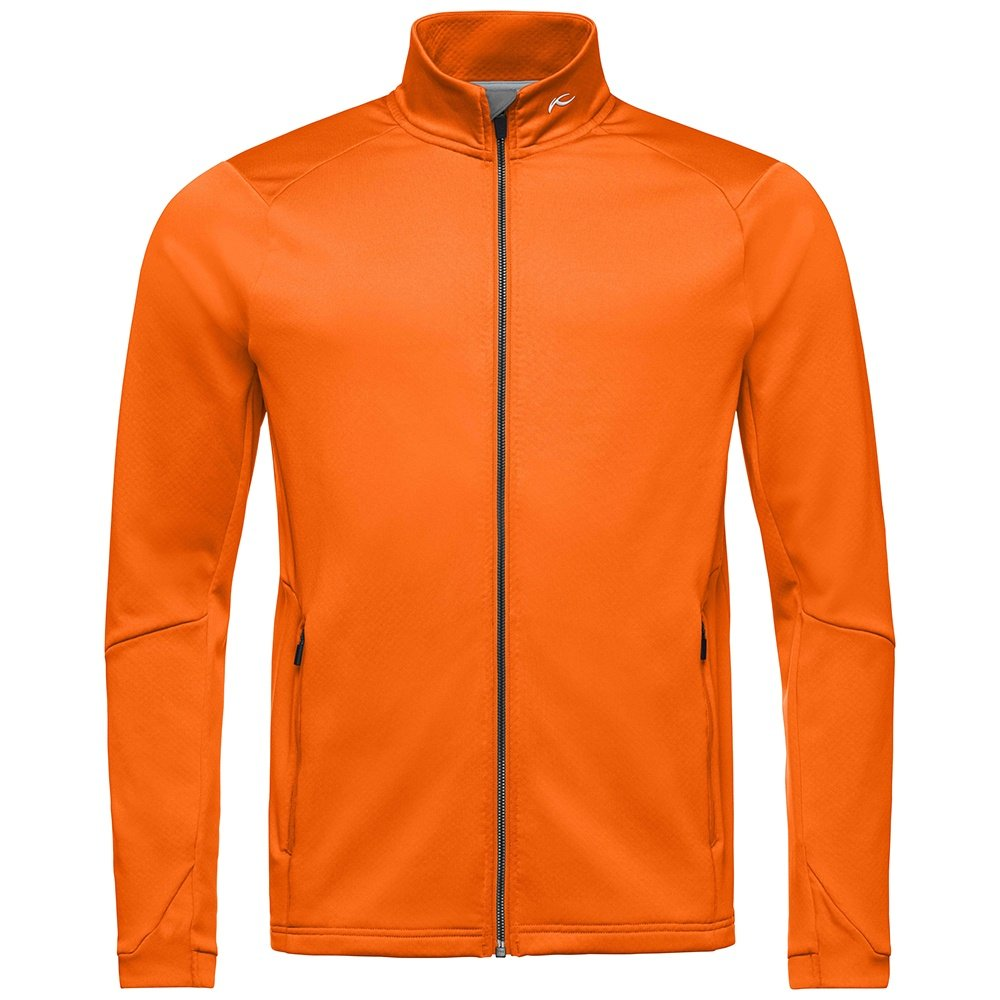 KJUS Diamond Fleece Jacket (Men's) - Kjus Orange