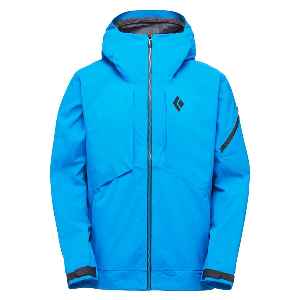 Black Diamond Mission GORE-TEX Shell Ski Jacket (Men's) - Bluebird