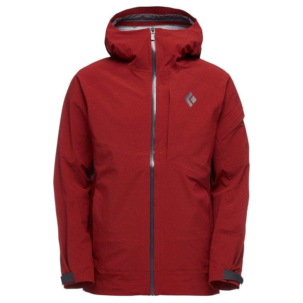Black Diamond Recon Stretch Shell Ski Jacket (Men's) - Red Oxide