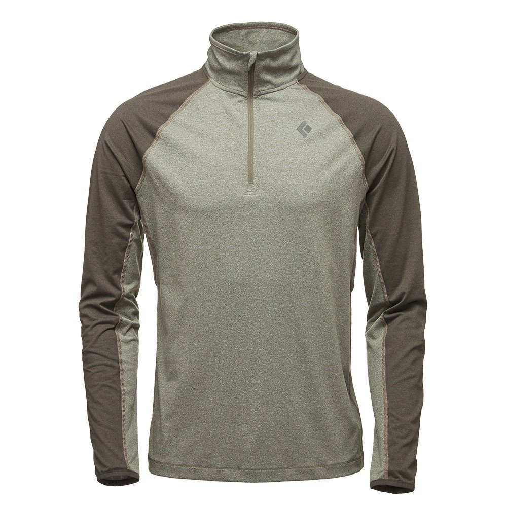 Black Diamond Approach 1/4-Zip Turtleneck Mid-Layer (Men's) - Burnt Olive