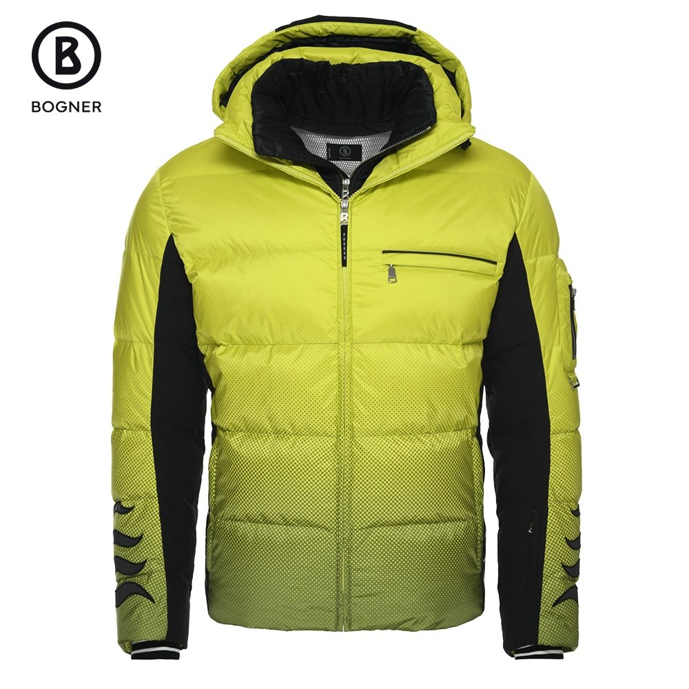 Bogner Flames-D Down Ski Jacket (Men's) - Glowing Sun