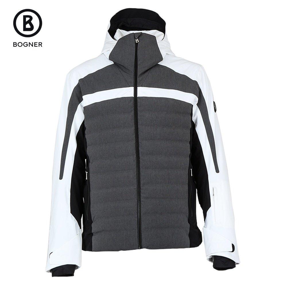 Bogner Lech-T Insulated Ski Jacket (Men's) - Grey/White