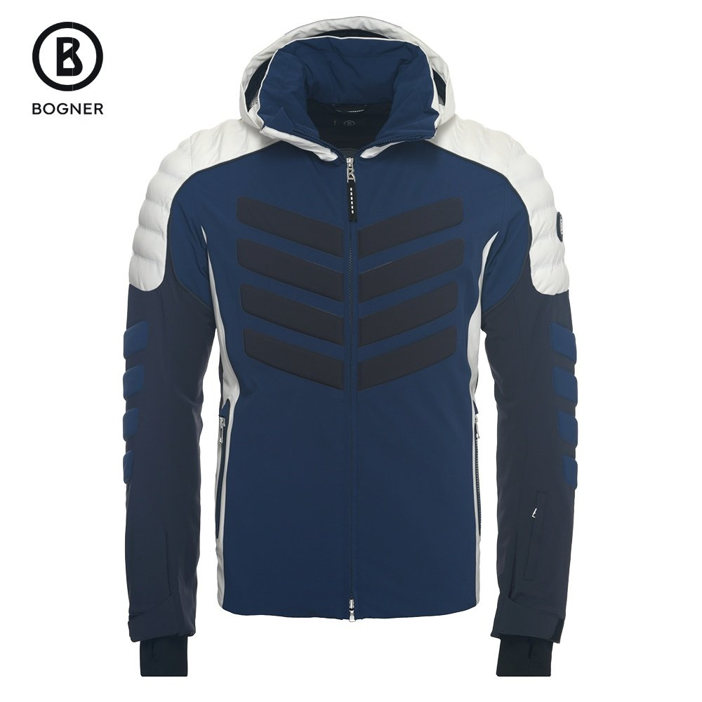 Bogner Liam-T Insulated Ski Jacket (Men's) - Denim Blue