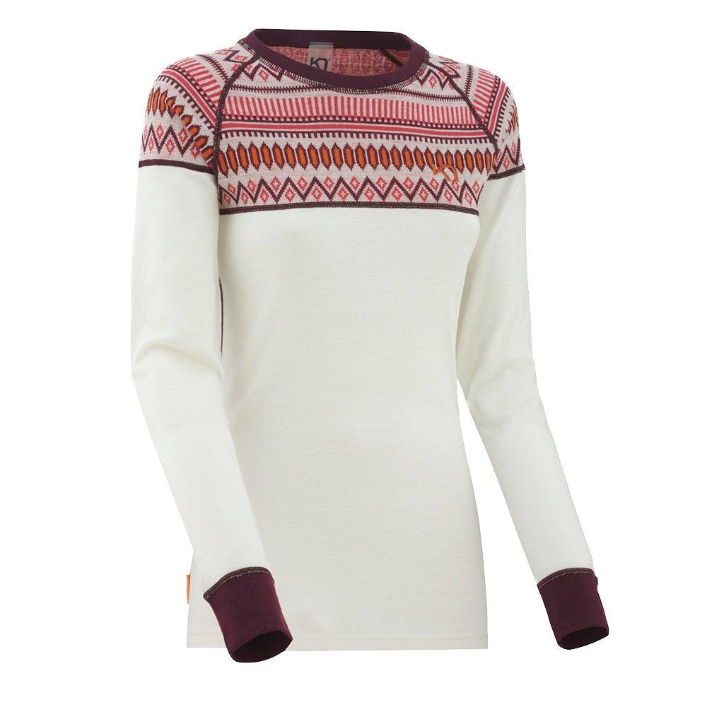Kari Traa Lokke Long Sleeve Baselayer Top (Women's) - Nwhite