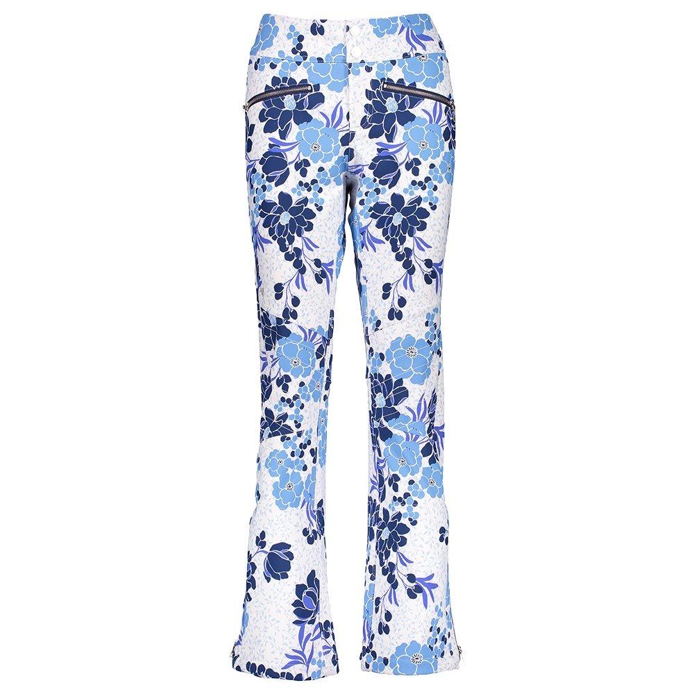 Obermeyer Printed Clio Softshell Ski Pant (Women's) - Efflorescent Ice Garden Print