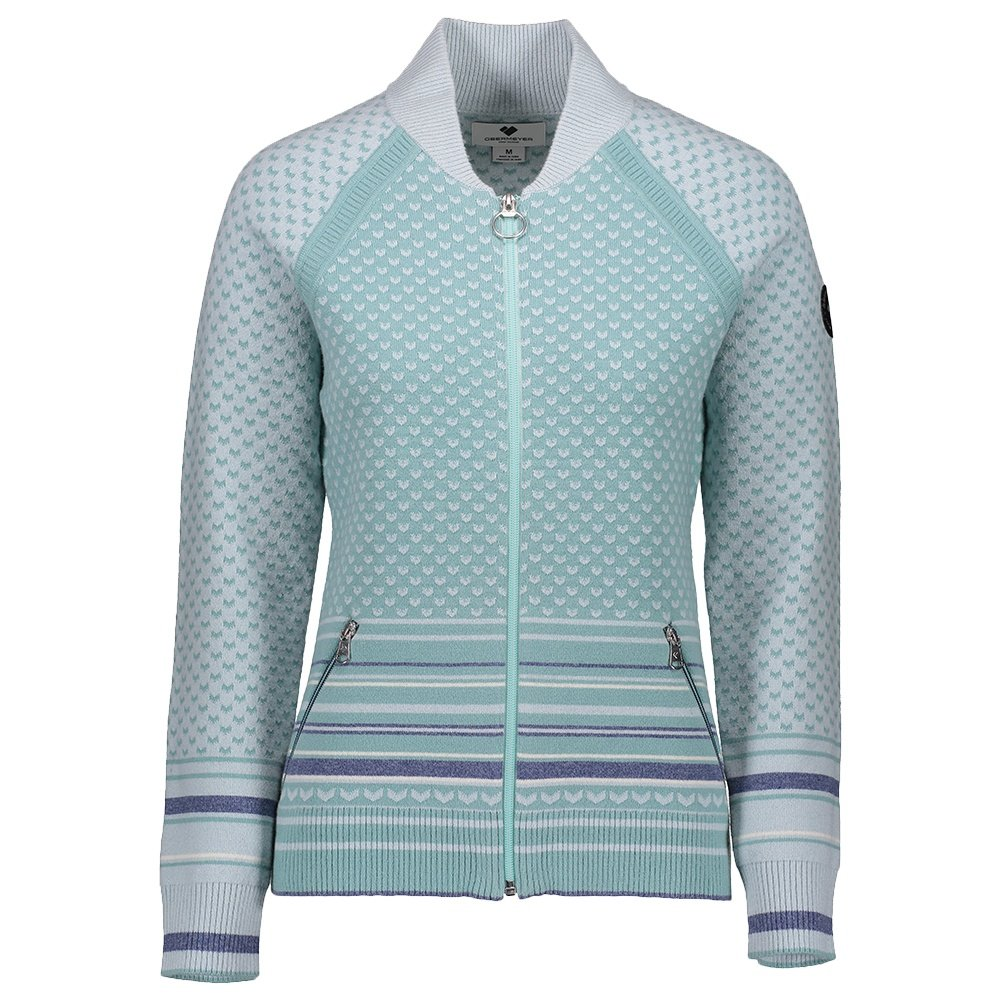 Obermeyer Belletex Full-Zip Sweater (Women's) - Laguna Cay