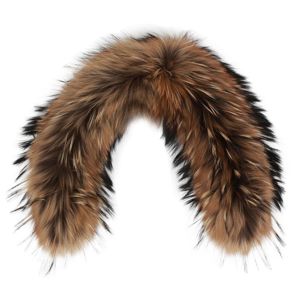 Bogner Nurea-S Real Fur Hood Trim - Natural