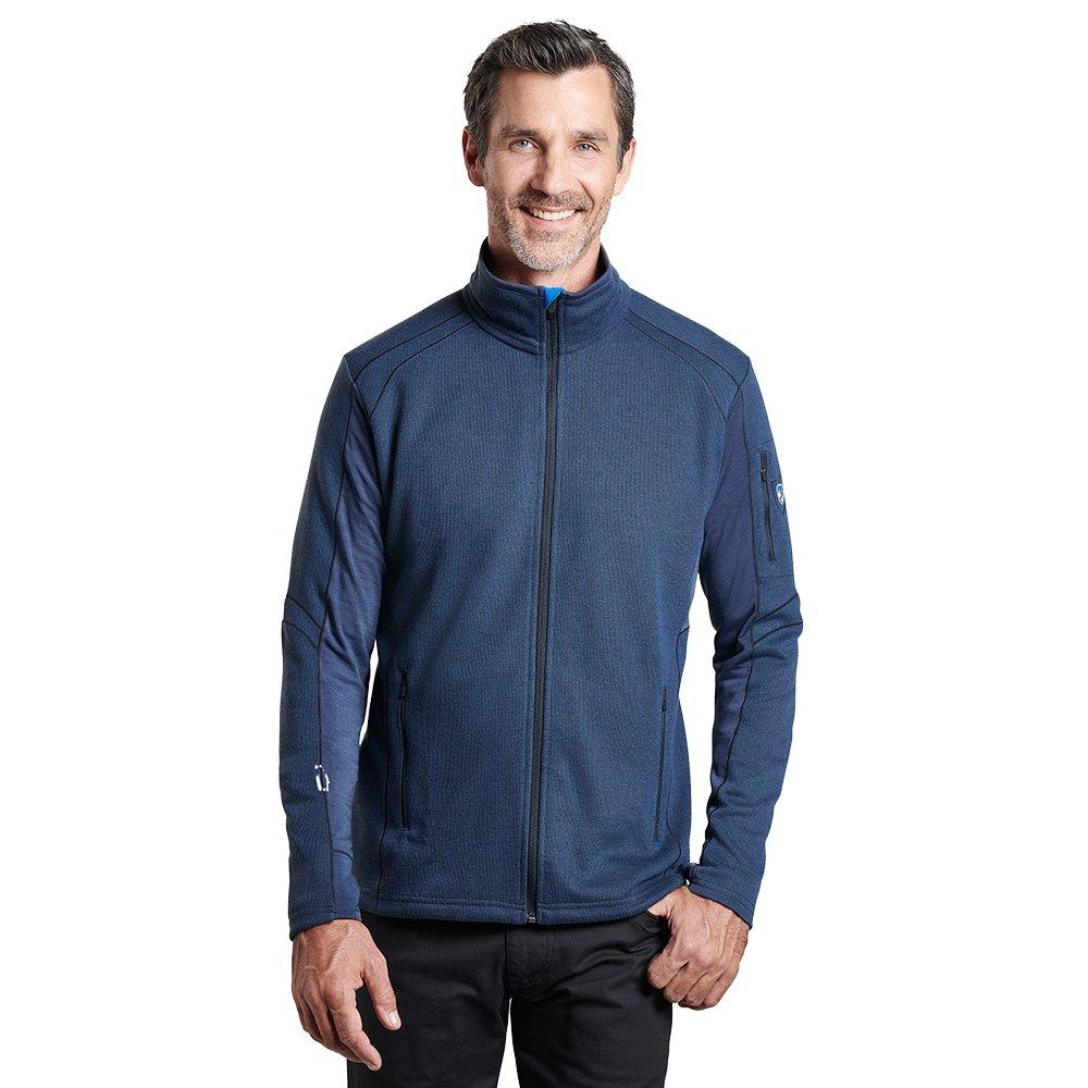 Kuhl Aktivator Full Zip Fleece Jacket (Men's) - Mutiny Blue