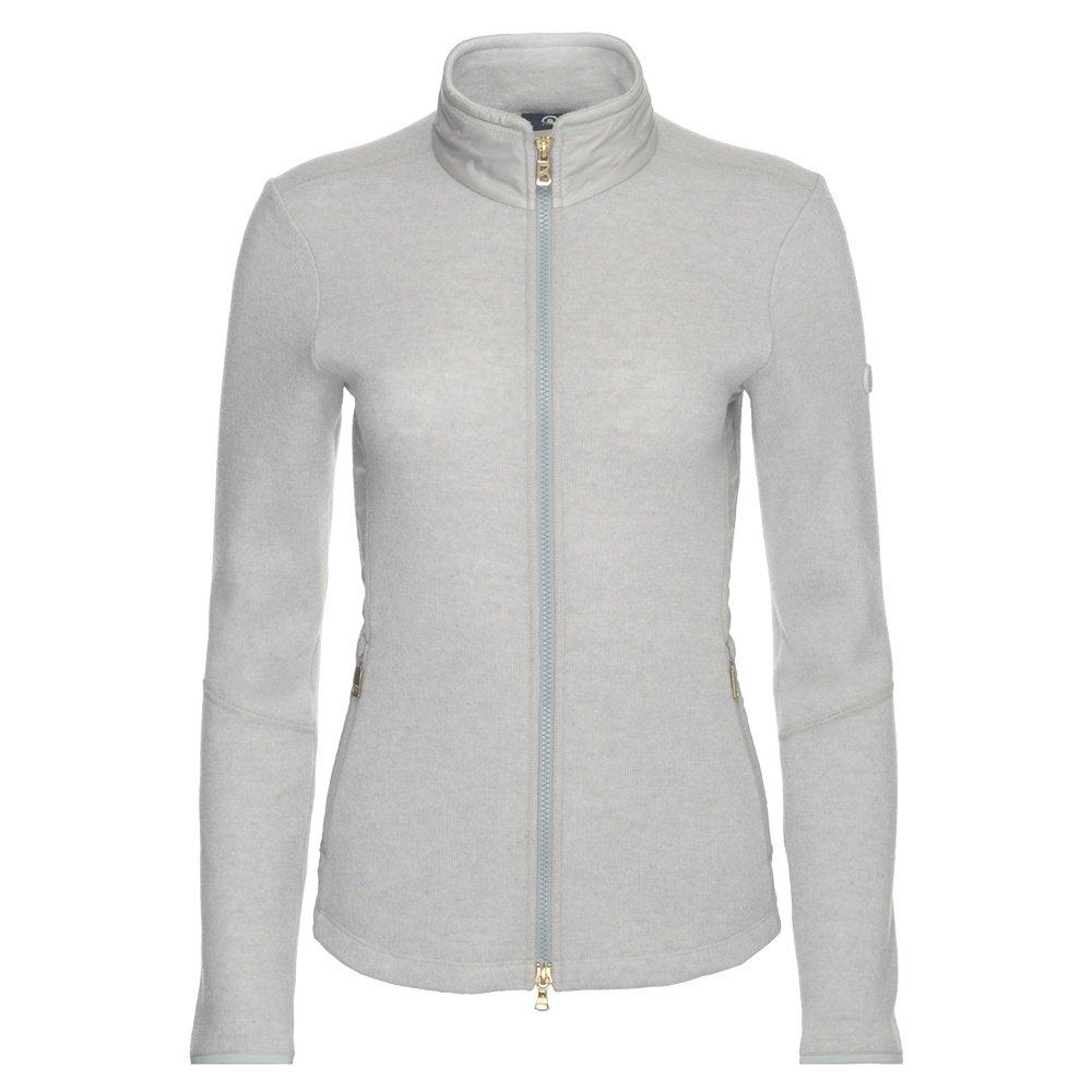 Bogner Graze Full Zip Sweater (Women's) - Off White/Soft Grey