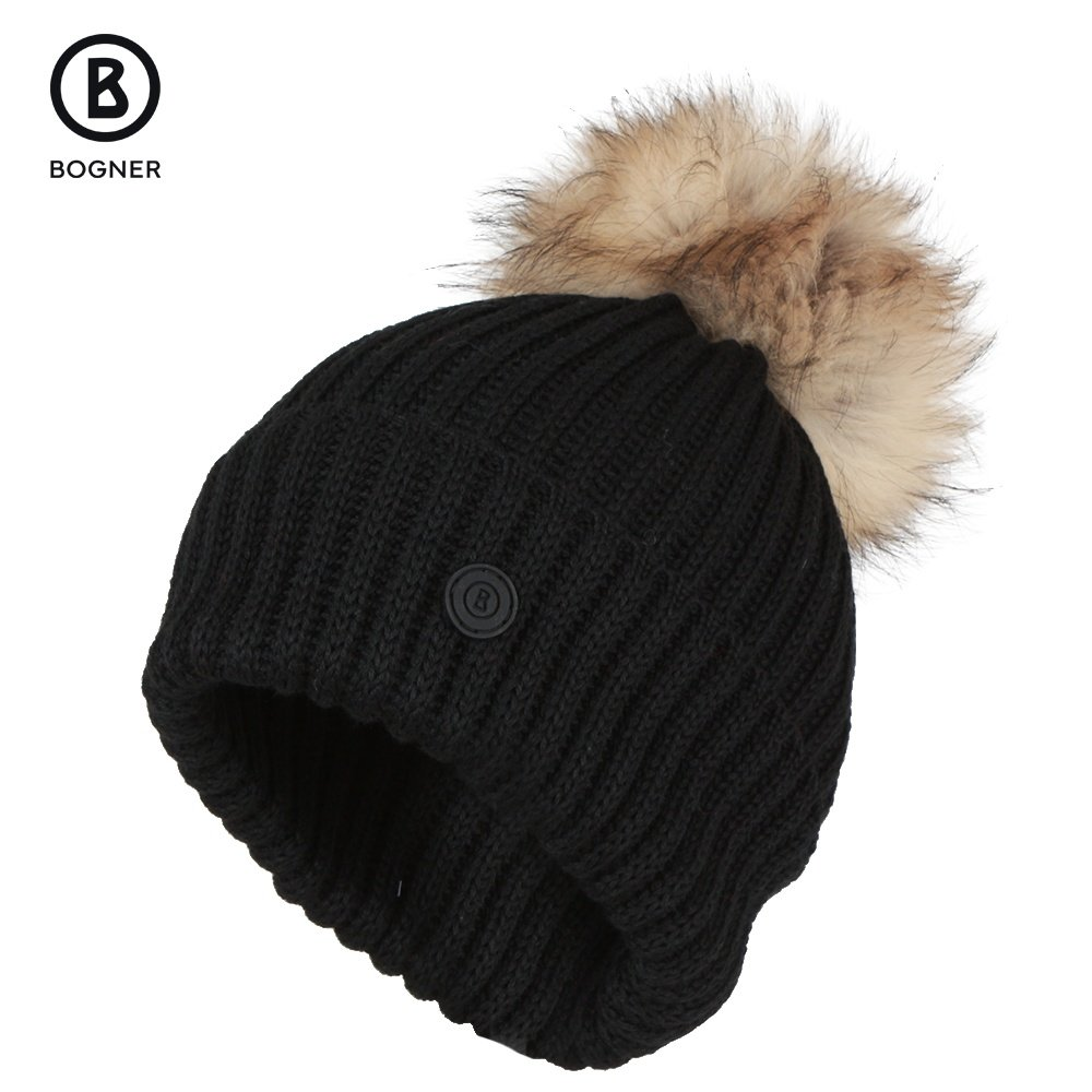 Bogner Leonie Hat with Real Fur (Women's) -