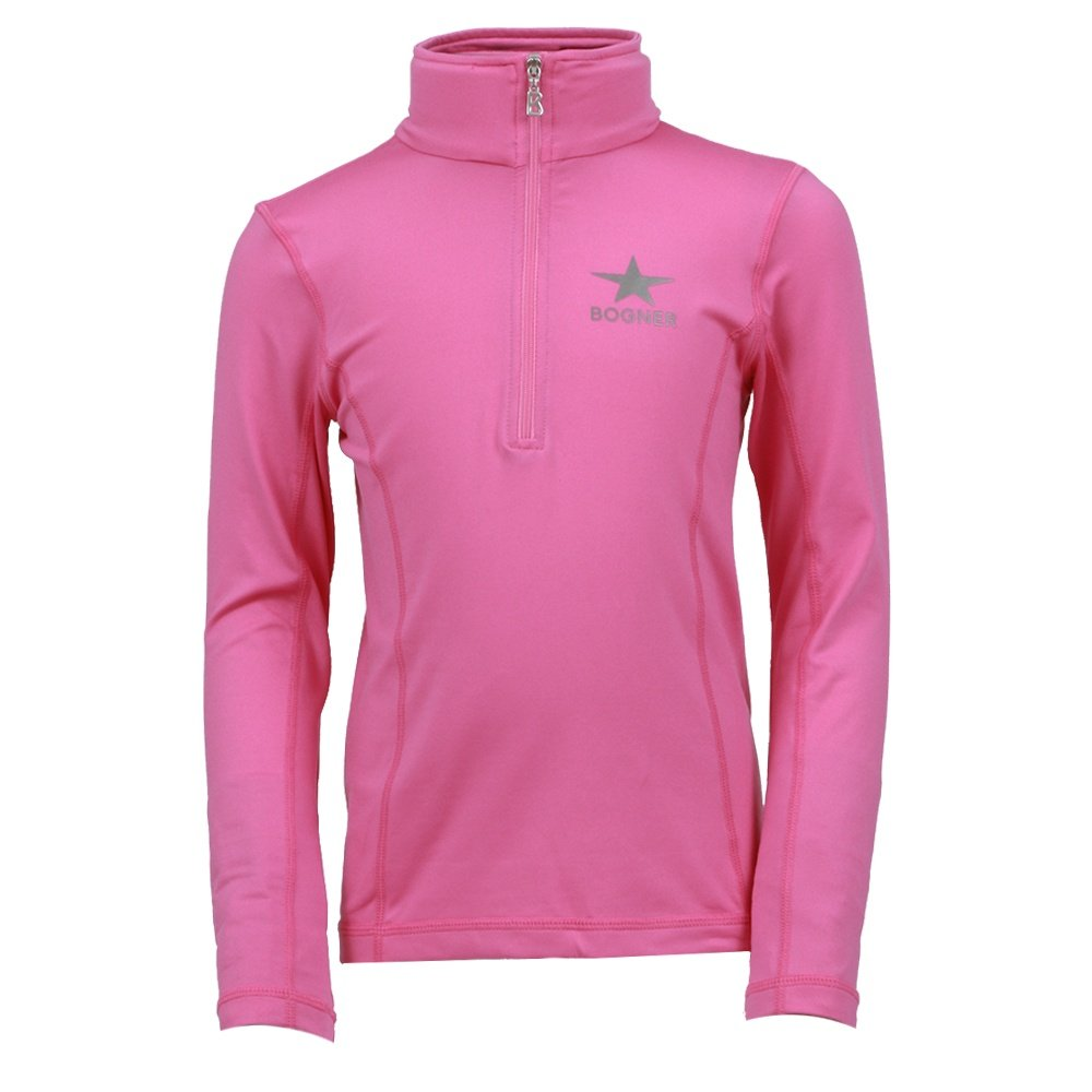 Bogner Ada 1/4-Zip Turtleneck Mid-Layer (Girls') - Pink