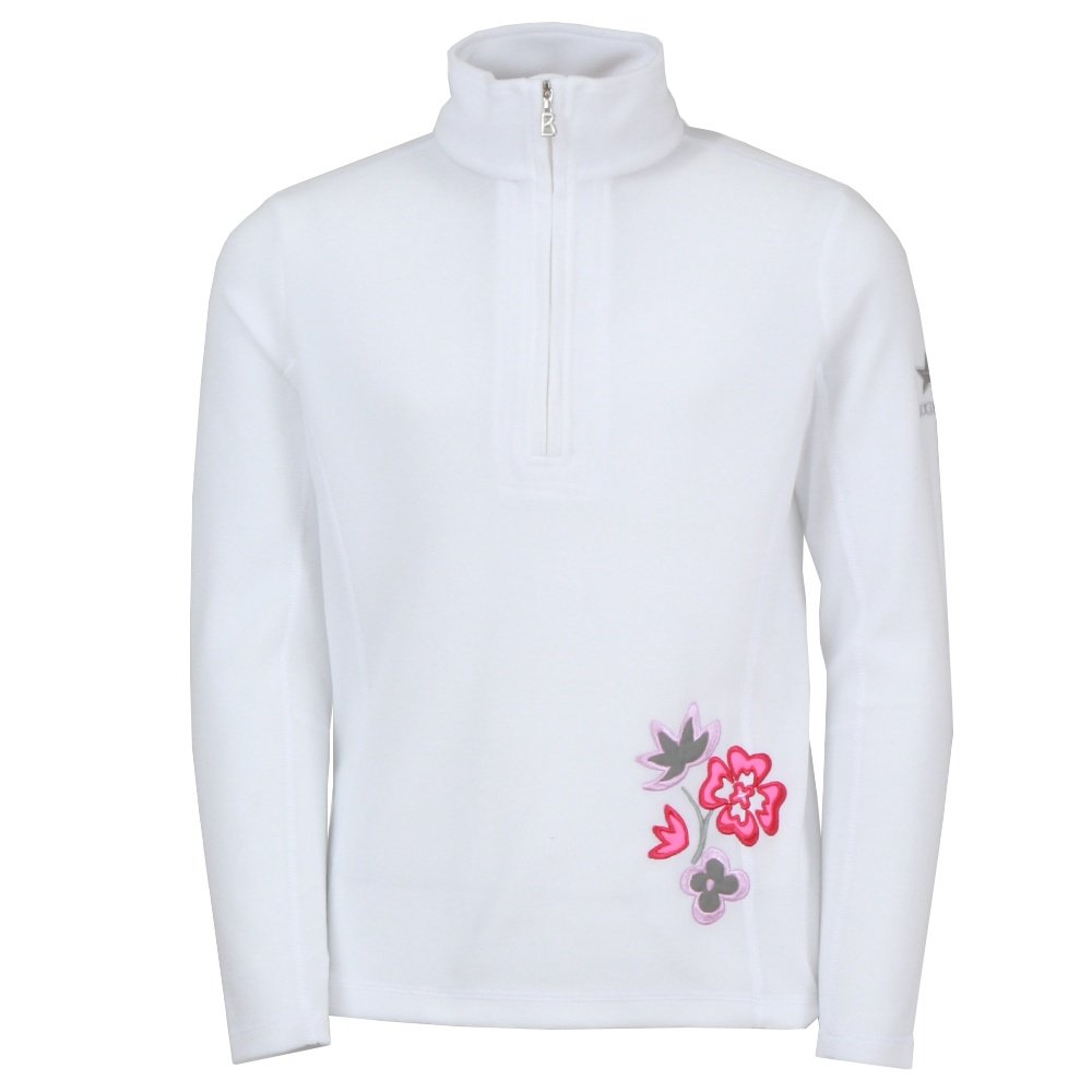Bogner Adela 1/4-Zip Fleece Mid-Layer (Girls') - Off White