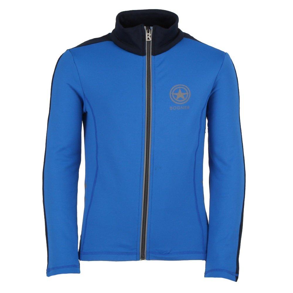 Bogner Matt Full Zip Sweater (Boys') - Bright Blue