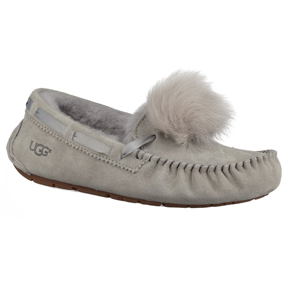 92238380f2 UGG Dakota Pom Pom Slipper (Women s) - Seal