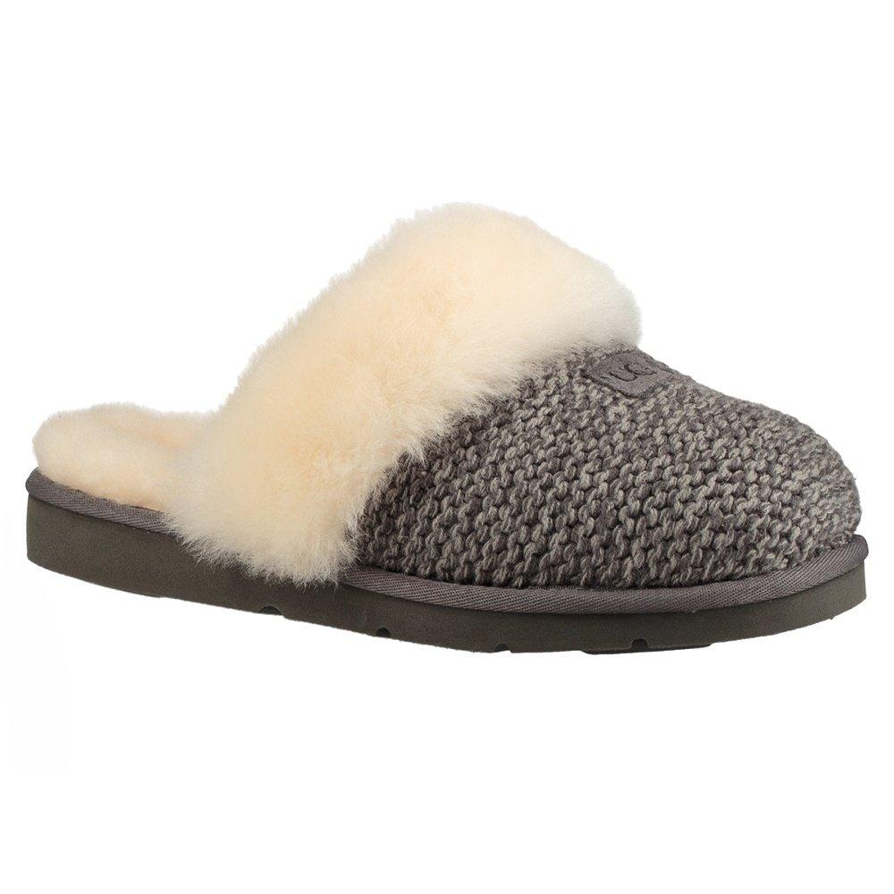 UGG Cozy Knit Slipper (Women's) - Charcoal/Gray