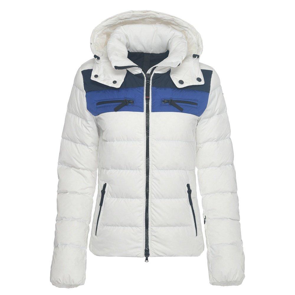 Bogner Fire + Ice Lela3-D Down Ski Jacket (Women's) - White/Blue
