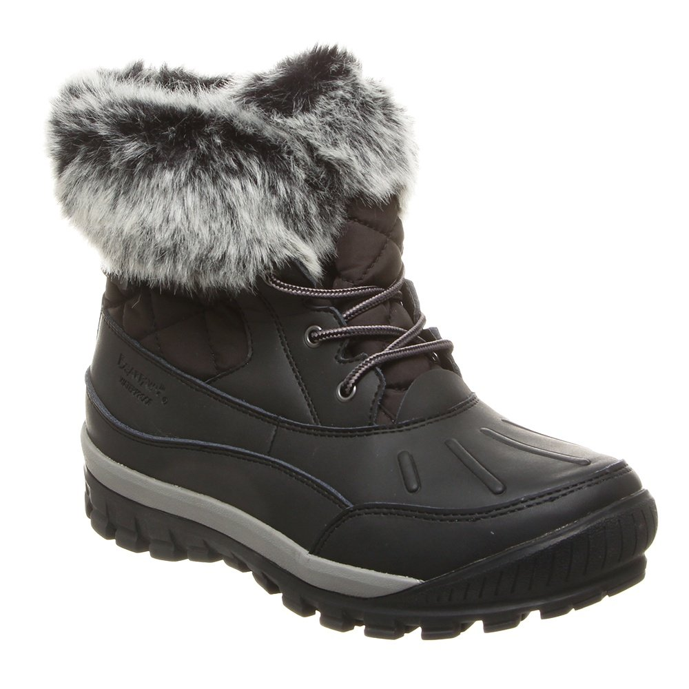 Bearpaw Becka Boot (Women's) - Black/Gray