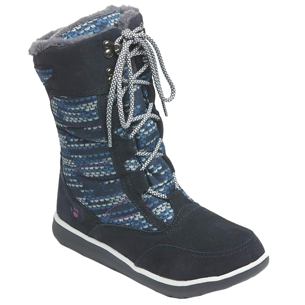 Bearpaw Aretha Boot (Women's) - Navy/Navy Print
