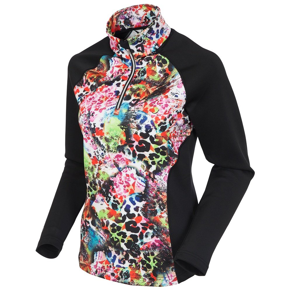 Sunice All Around 1/2-Zip Pullover (Women's) - Abstract Animal