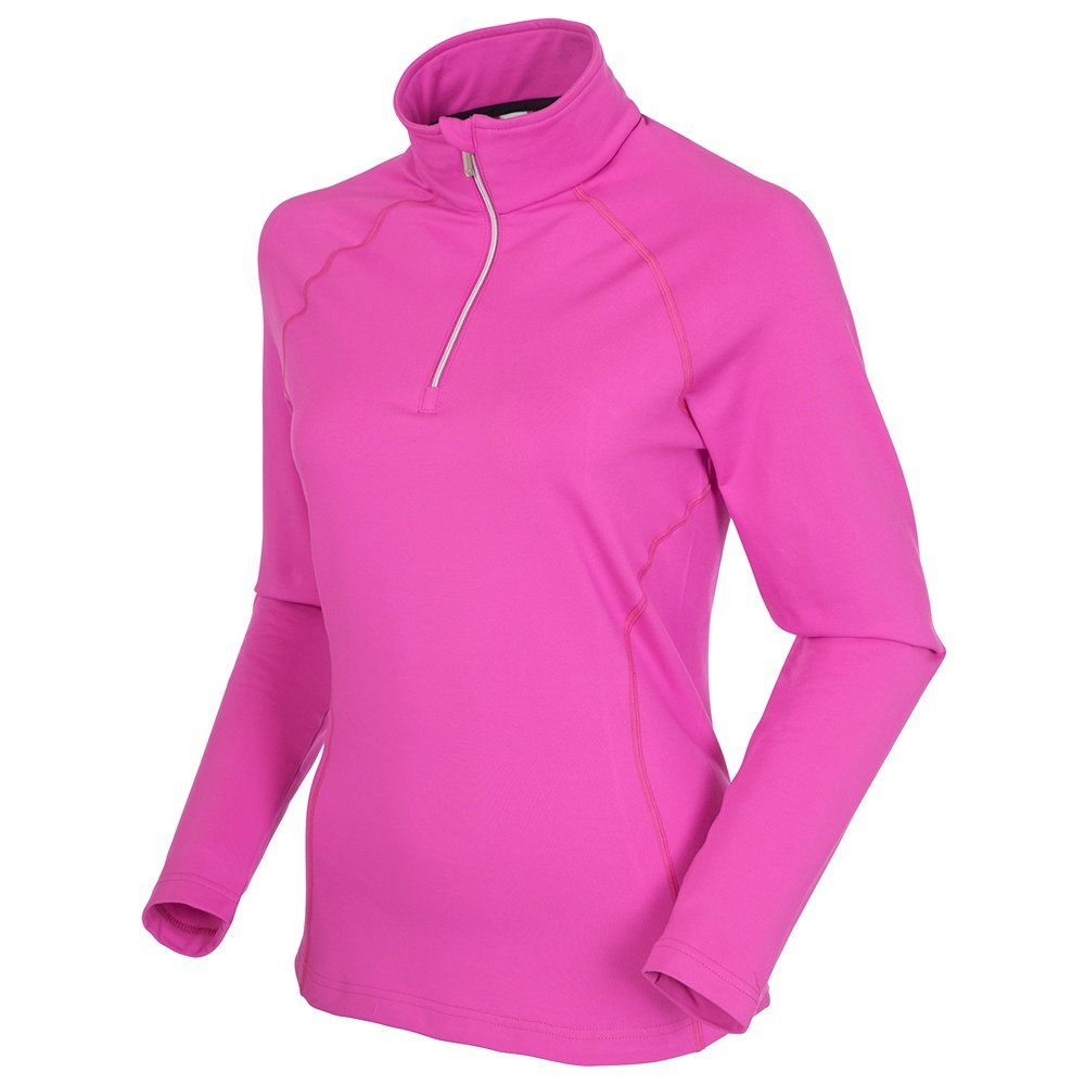 Sunice Ski Lodge II Pullover Turtleneck Mid-Layer (Women's) - Pink Blossom