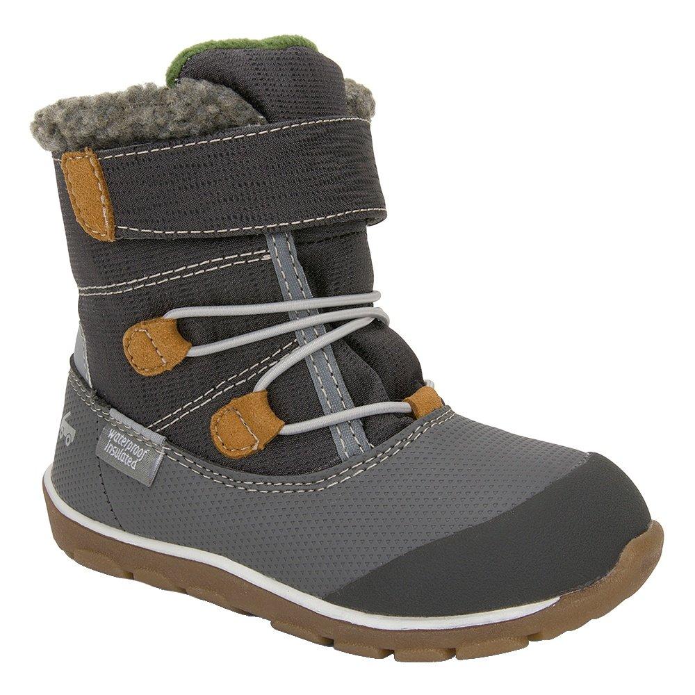See Kai Run Gilman Waterproof Winter Boots (Little Boys') - Gray