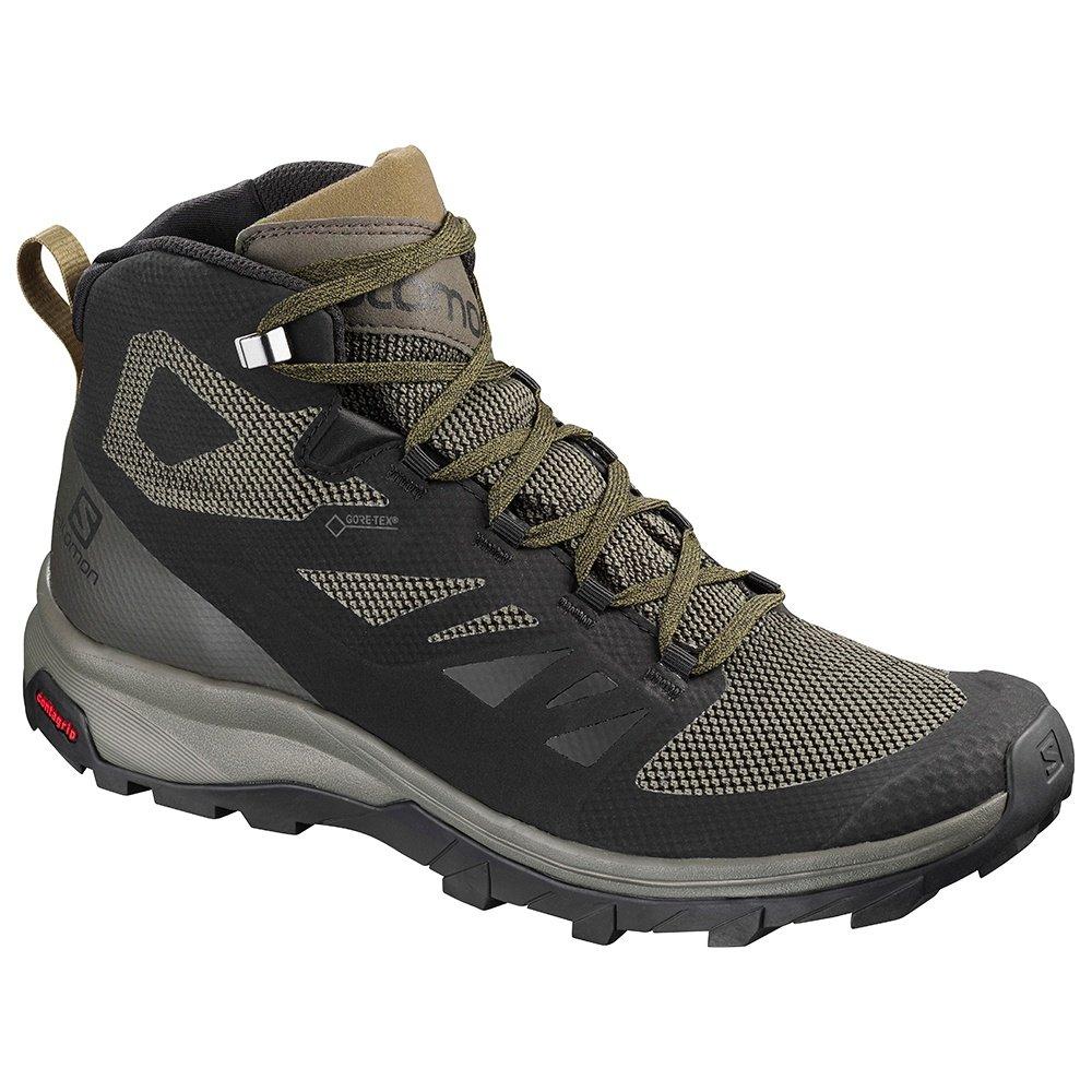 Salomon Outline Mid GORE TEX Hiking Boot (Men's) - Black