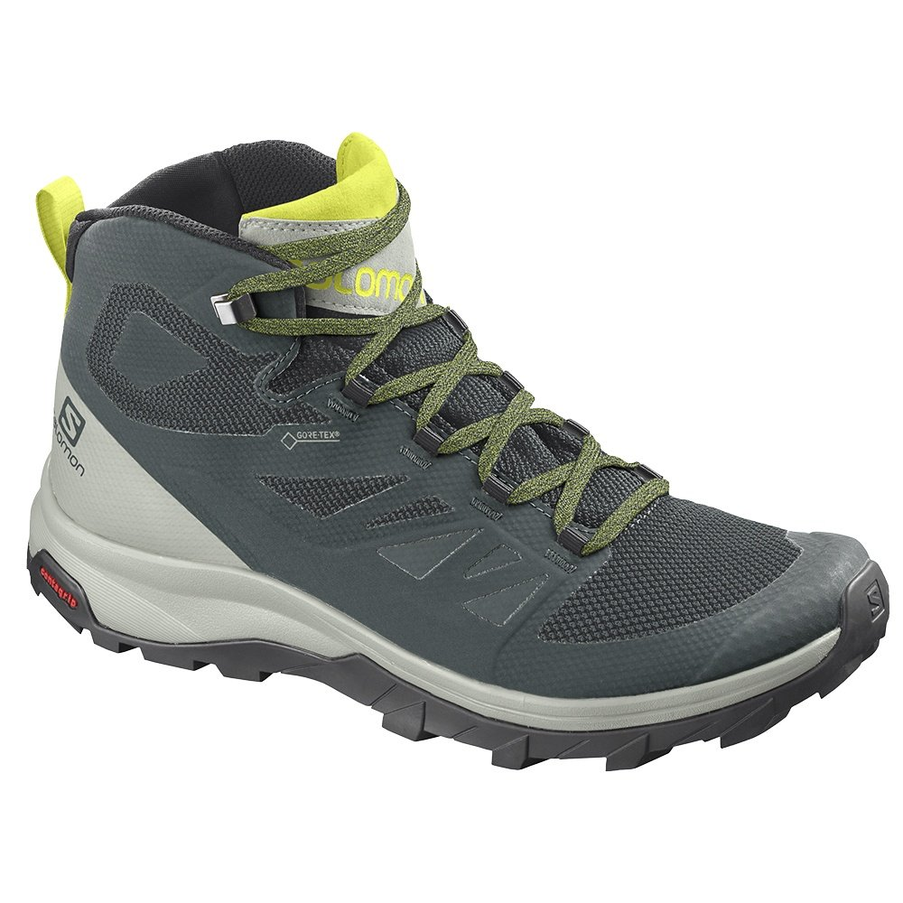 Salomon Outline Mid GORE TEX Hiking Boot (Men's) - Green Gables