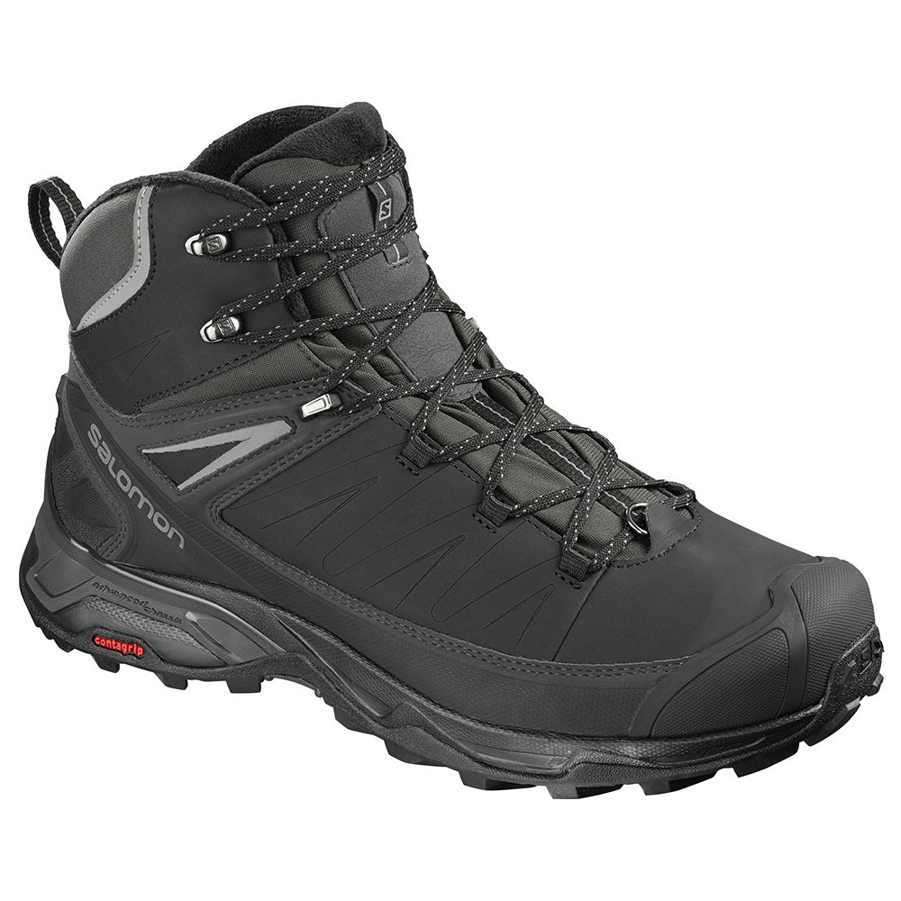 Salomon X Ultra Mid CS Waterproof Boot (Men's) - Black