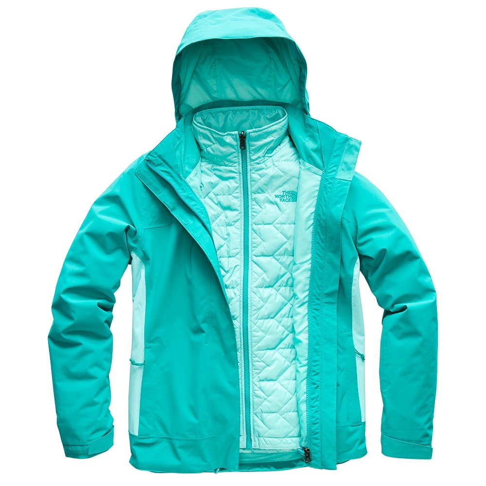The North Face Carto Triclimate Ski Jacket (Women's) - Kokomo Green/Mint