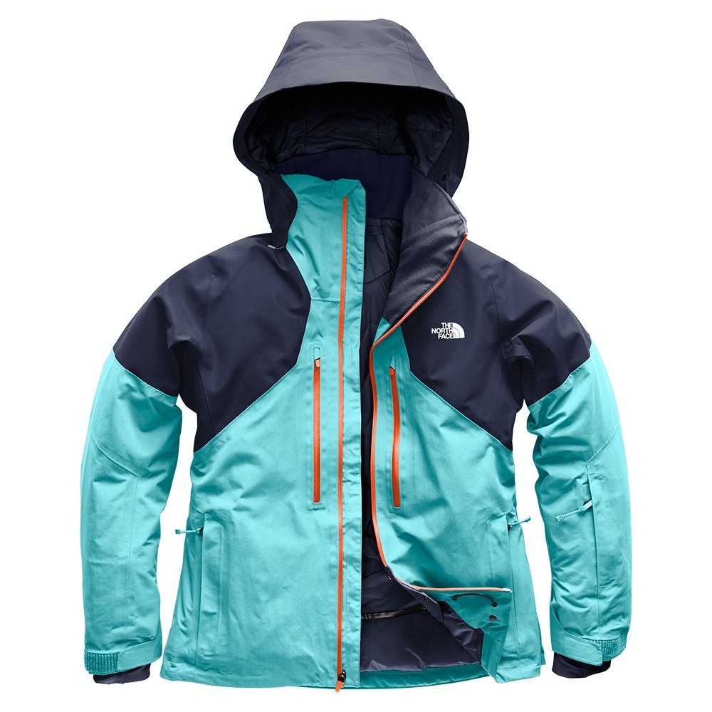 The North Face Powder Guide GORE-TEX Insulated Ski Jacket (Women's) - Transantarctic Blue/Urban Navy