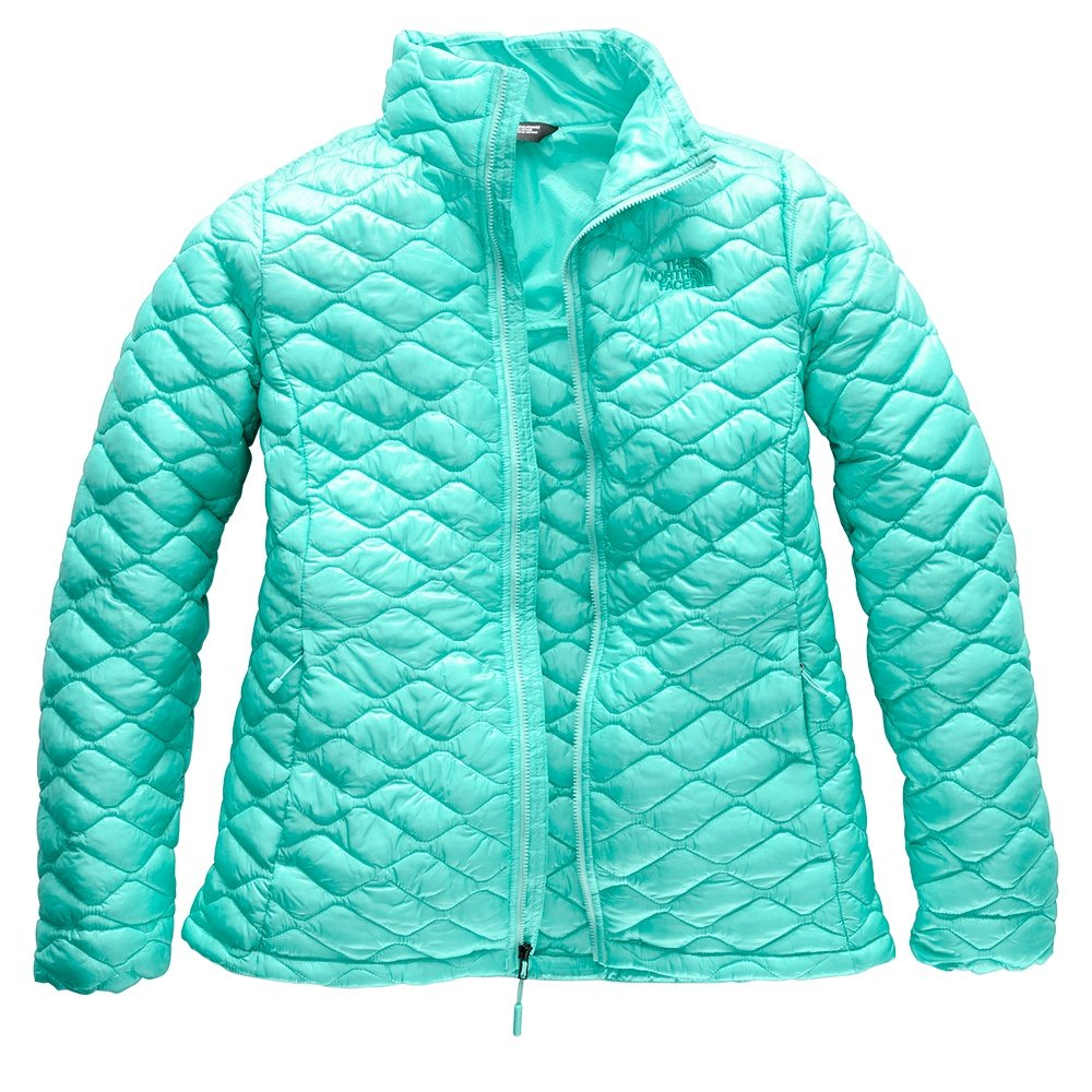 The North Face ThermoBall Jacket (Women's) - Mint Blue