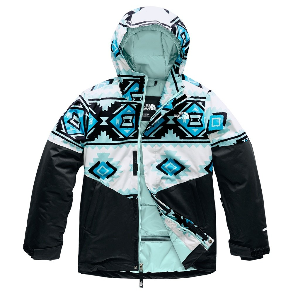The North Face Brianna Insulated Ski Jacket (Girls') - TNF White Tribal Print