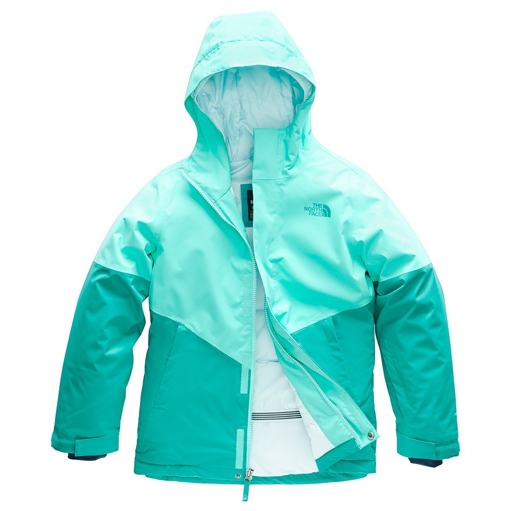 The North Face Brianna Insulated Ski Jacket (Girls') - Mint Blue