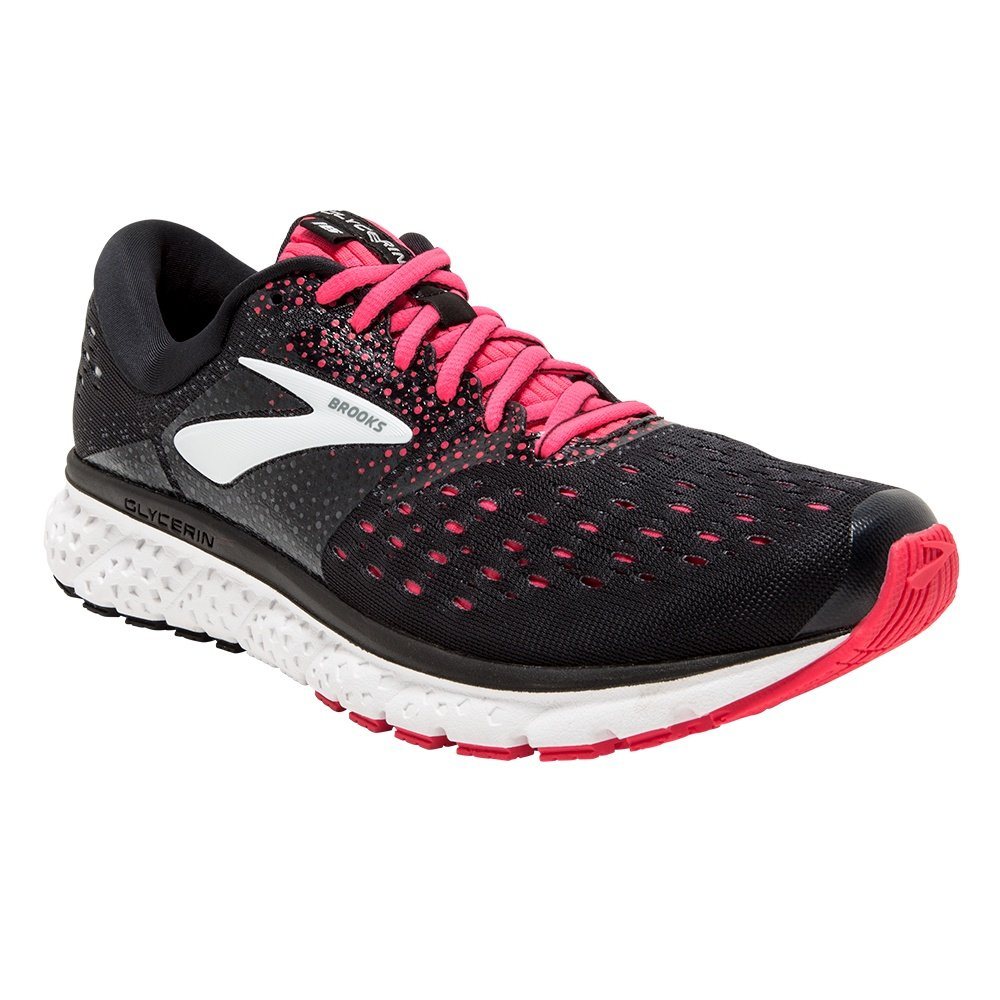 Brooks Glycerin 16 Running Shoe (Women's) - Black/Pink