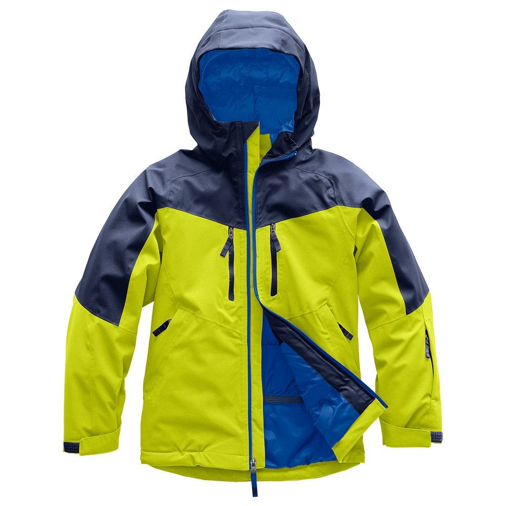 The North Face Chakal Insulated Ski Jacket (Boys') - Lime Green