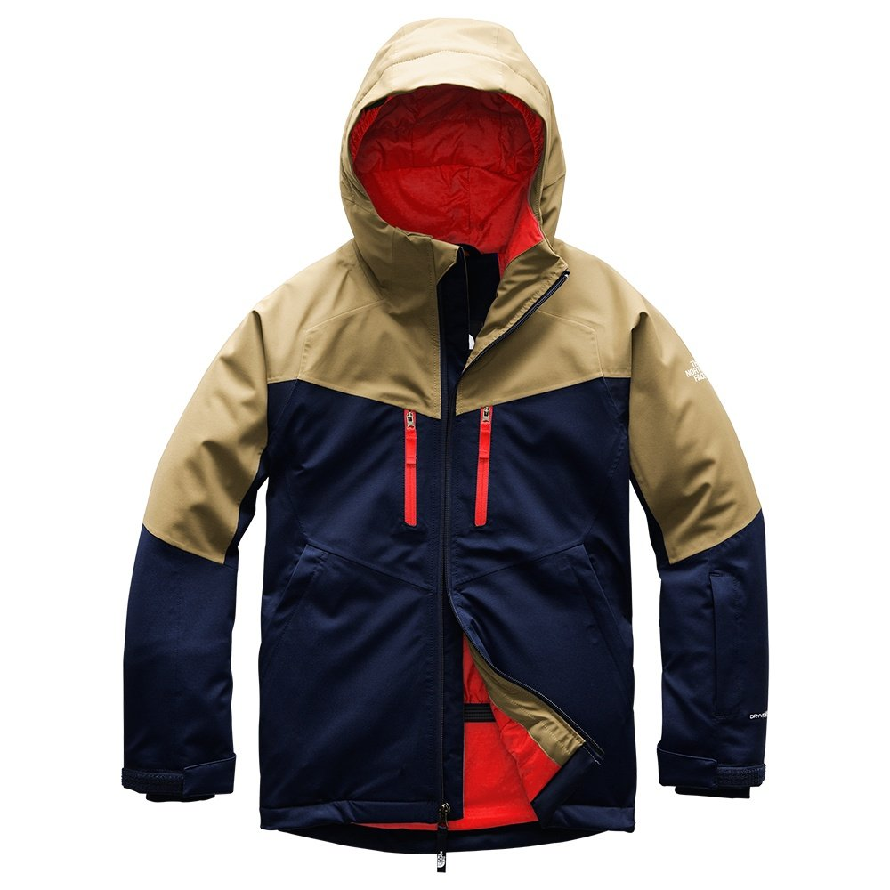 The North Face Chakal Insulated Ski Jacket (Boys') - Montague Blue
