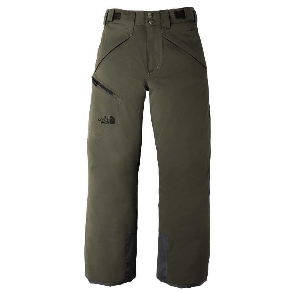 The North Face Chakal Insulated Ski Pant (Boys') - New Taupe Green