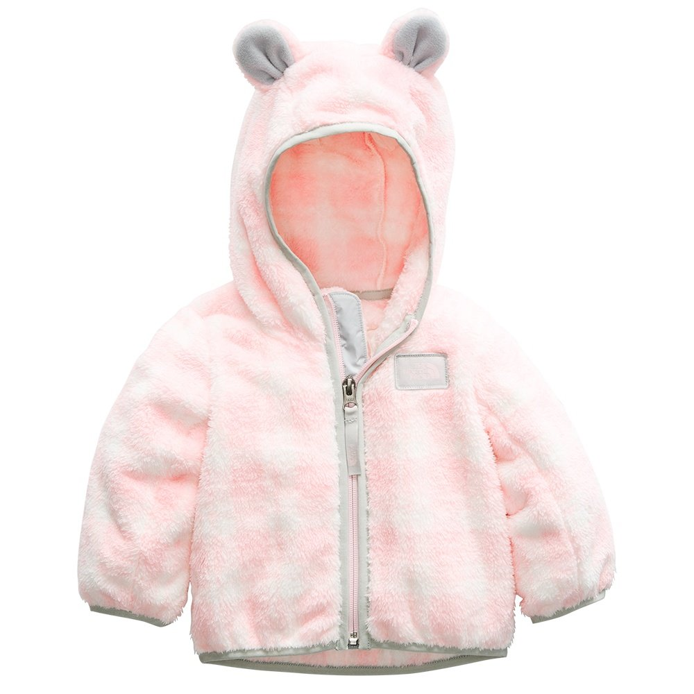 The North Face Campshire Bear Hoodie (Little Kids') - Purdy Pink Pretty Plaid Print