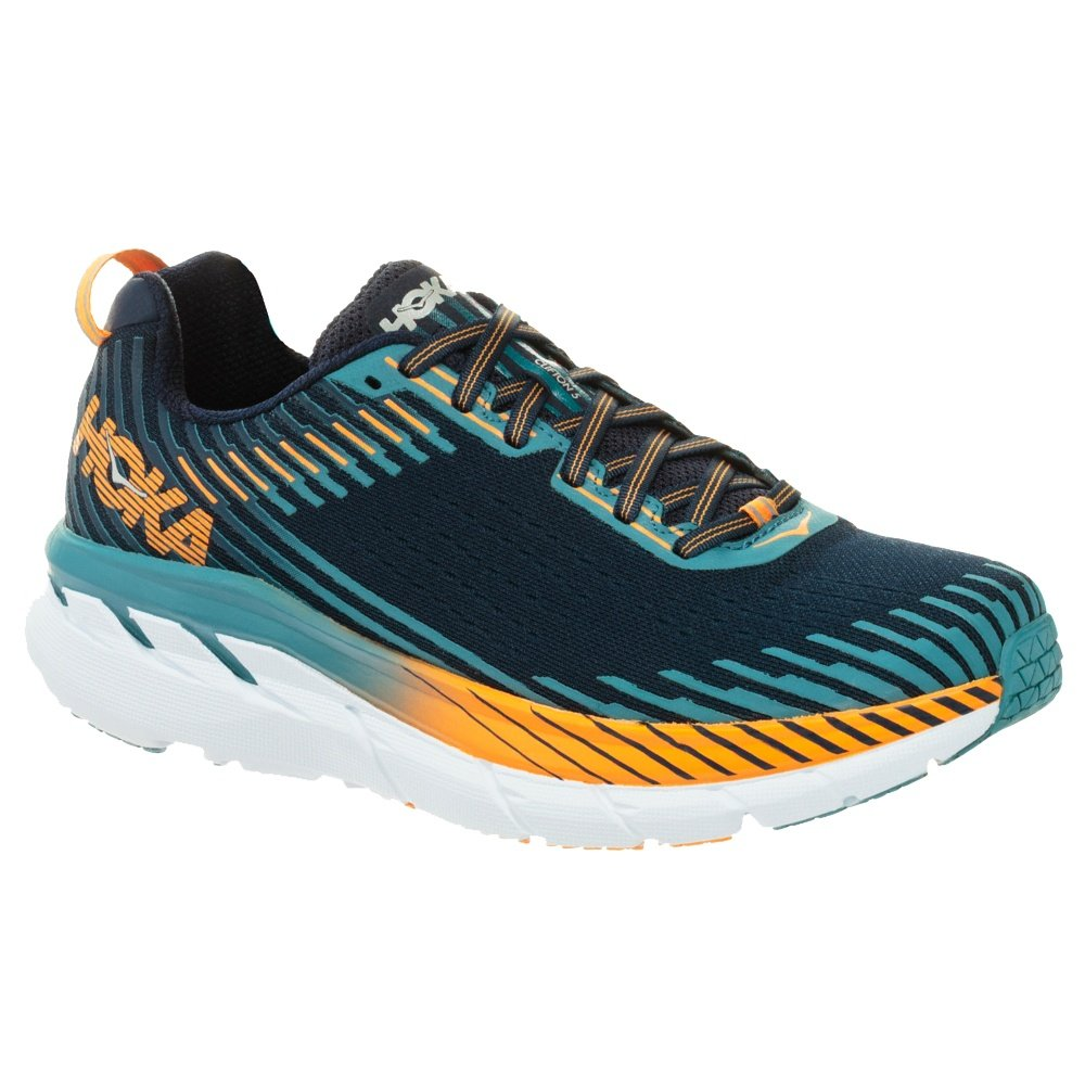35401695b0d7 Hoka One One Clifton 5 Wide Running Shoe (Men s) - Black Iris Storm.  Loading zoom