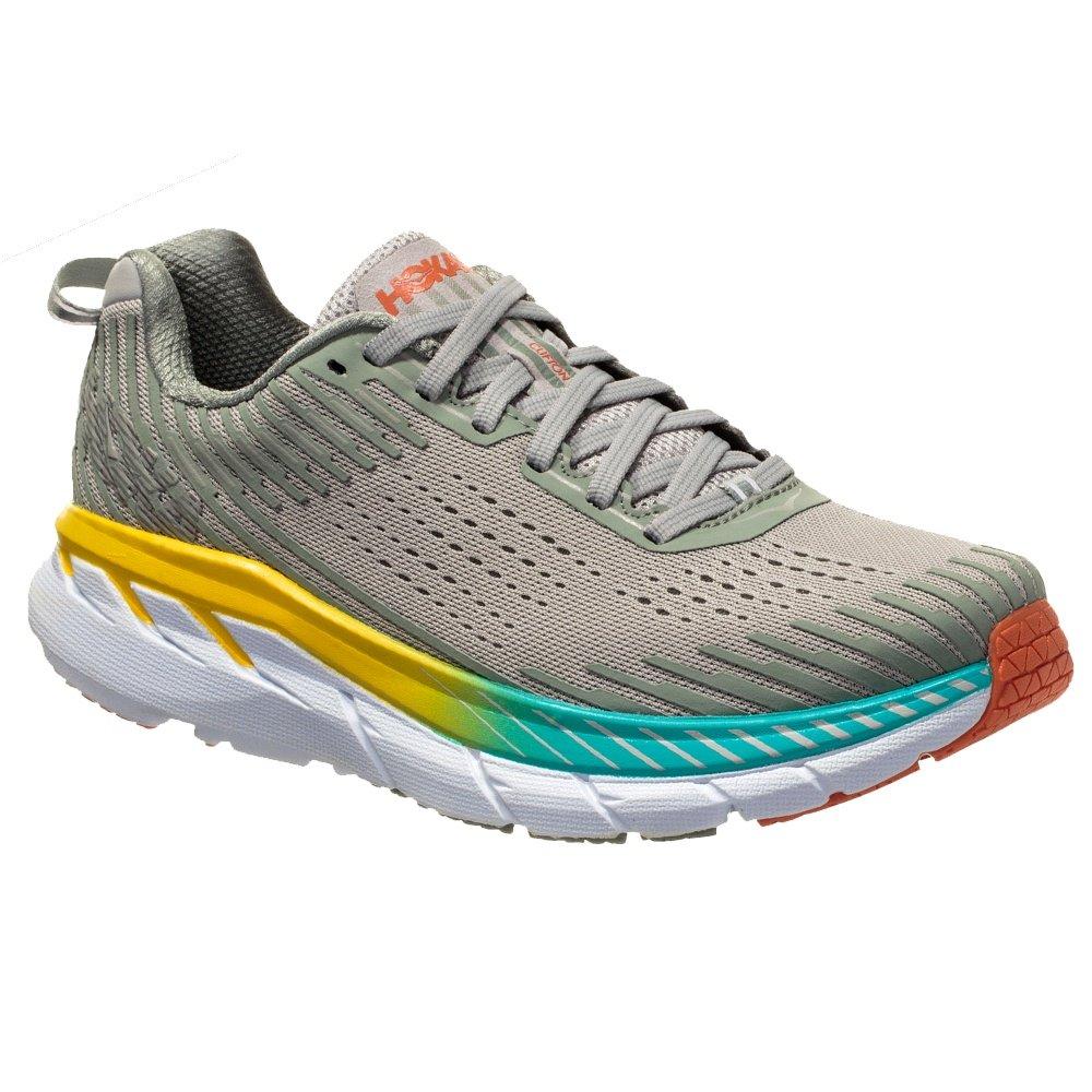 Hoka One One Clifton 5 Wide Running Shoe (Women's) - Vapor Blue/Wrought Iron