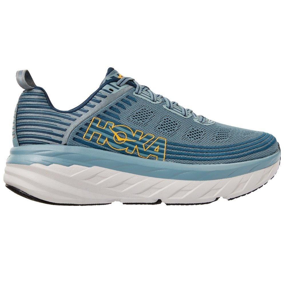 Hoka One One Bondi 6 Running Shoe (Men's) - Lead/Majolica Blue