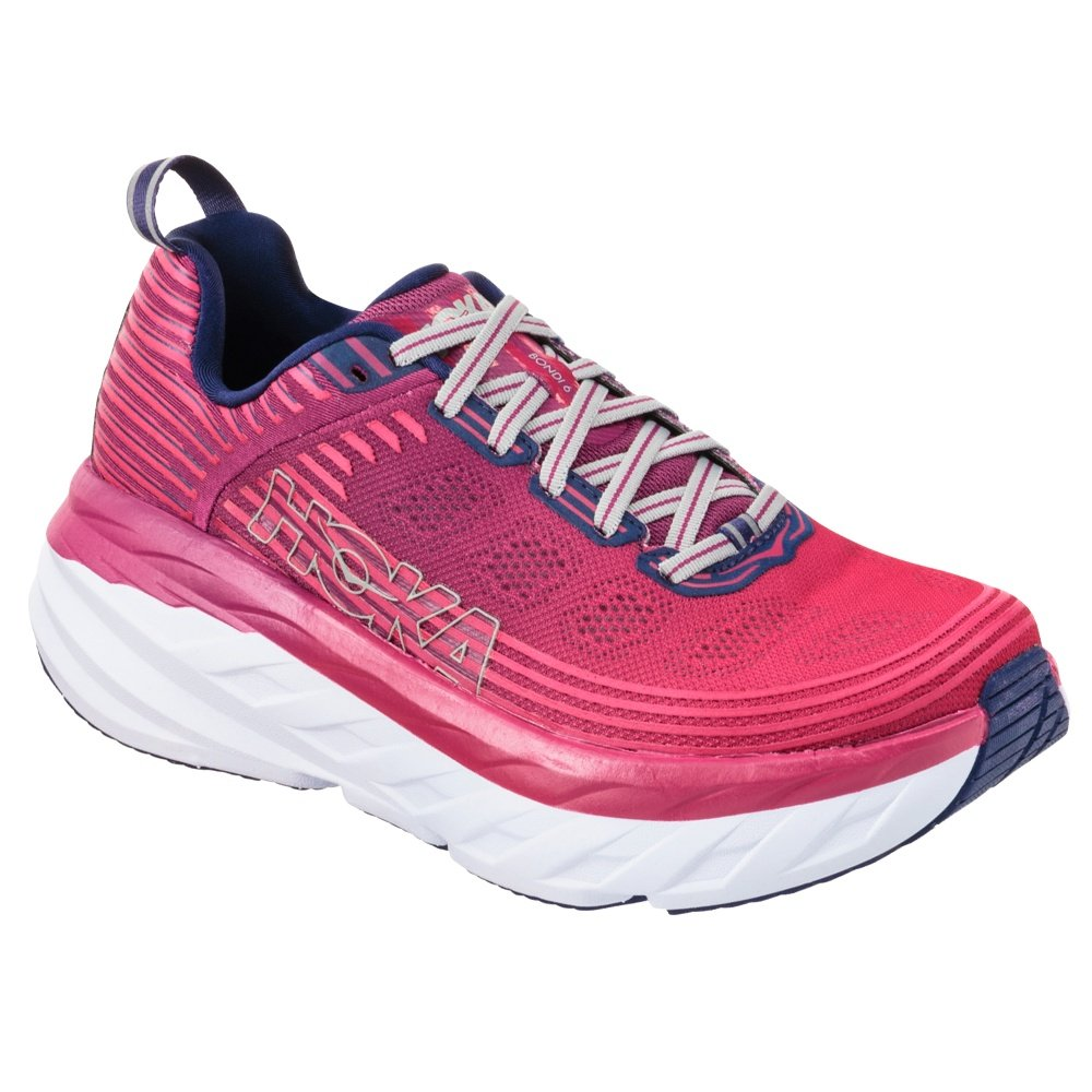 Hoka One One Bondi 6 Running Shoe (Women's) - Boysenberry/Blue Depths