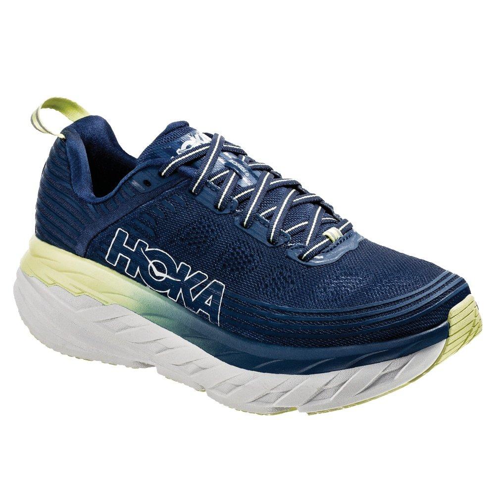 Hoka One One Bondi 6 Running Shoe (Women's) - Ensign Blue/Lime Sherbet