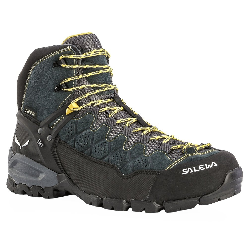 Salewa Alp Trainer Mid GORE-TEX Hiking Boots (Men's) - Carbon/Ringo