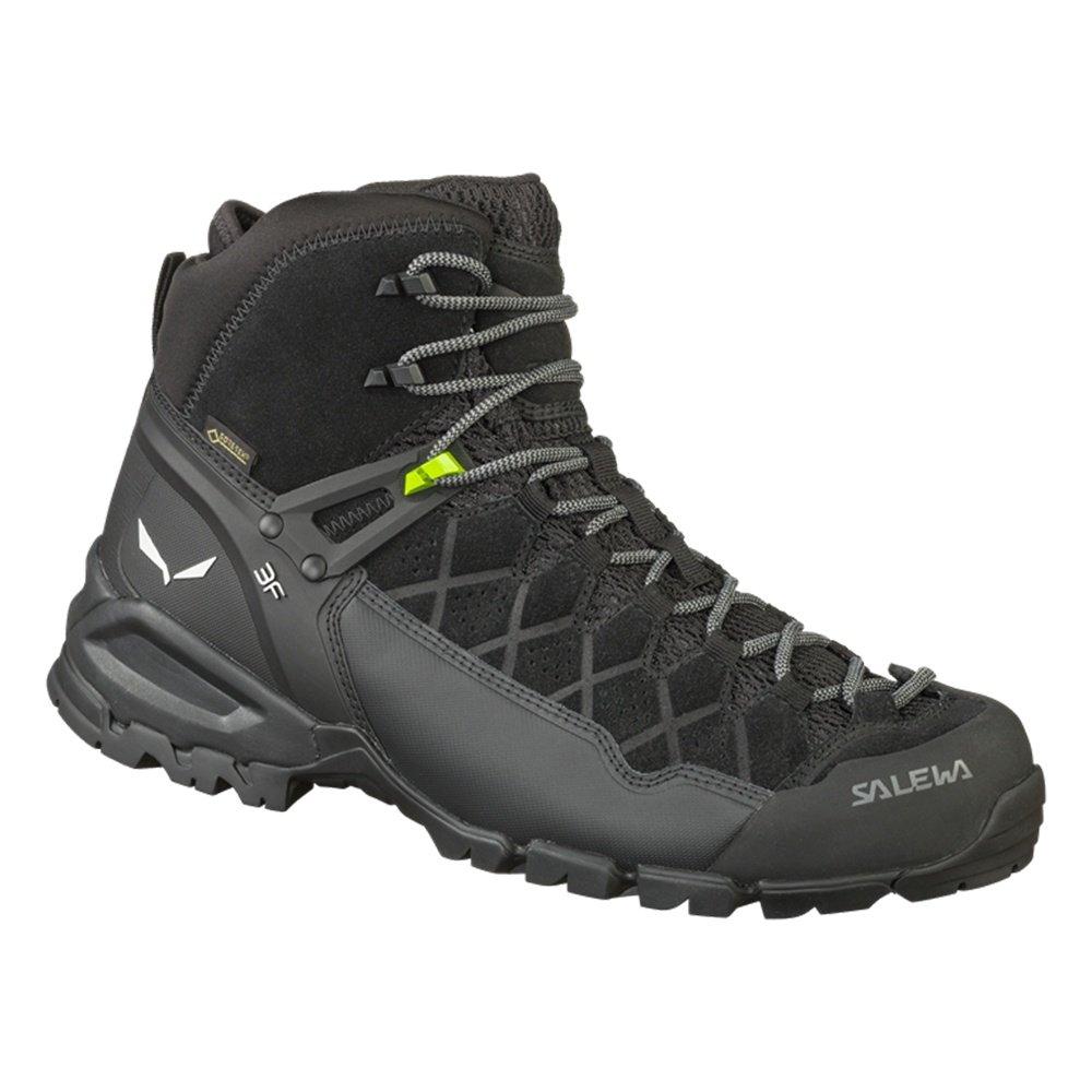 Salewa Alp Trainer Mid GORE-TEX Hiking Boots (Men's) - Black